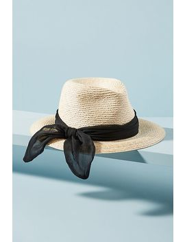 Eugenia Kim Lilian Ribbon Wrapped Fedora by Eugenia Kim