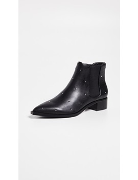 Lucy Block Heel Booties by Senso