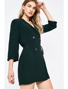 Uo   Robe Chemise AvecCol à Revers by Urban Outfitters