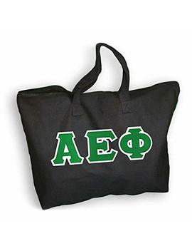 Greekgear Alpha Epsilon Phi Lettered Tote Bag by Express Design Group