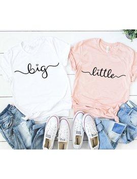 Big Little Shirts, Big Little Svg, Big Svg, Little Svg, Big Little, Sorority, Sister Shirt, Sister Svg, Bid Day, Big Sister, Little Sister by Etsy