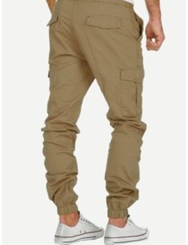 Men Pocket Drawstring Pants by Sheinside