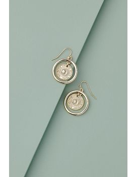 Tammi Coin Drop Earrings by Anthropologie