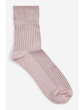 slinky-ribbed-socks by topshop