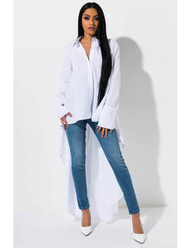 Get To Werk High Low Blouse by Akira