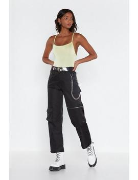 easy-come-d-ring-cargo-pants by nasty-gal