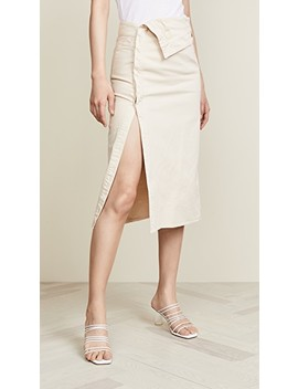 Flap Skirt by Jacquemus