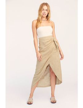 Leg's Out Sarong Skirt by Free People