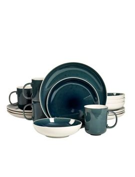Studio Tu® By Tabletops Unlimited® Julie 16 Piece Dinnerware Set In Blue by Bed Bath And Beyond