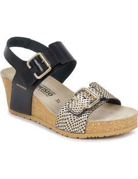 Lissandra Platform Wedge Sandal by Mephisto