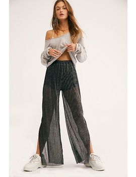 Glisten Pleat Pants by Free People