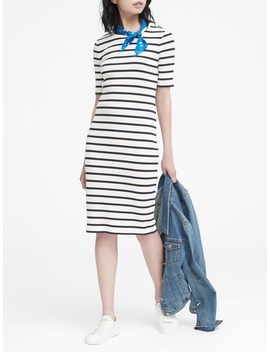 Stripe T Shirt Dress by Banana Repbulic