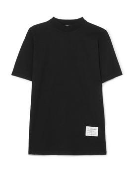 Egoya Oversized Appliquéd Cotton Jersey T Shirt by Acne Studios