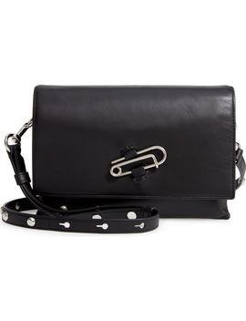 Nancy Leather Shoulder Bag by Allsaints