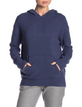Wool Blend Pullover Hoodie by Vince