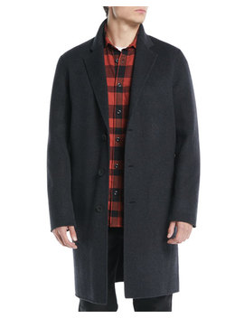 Men's Wool Blend Car Coat by Vince