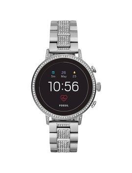 Gen 4 Venture Hr Smartwatch 40mm Stainless Steel   Silver With Stainless Steel Strap by Fossil
