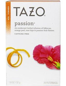 Tazo Herbal Tea Passion    20 Tea Bags   2 Pc by Tazo