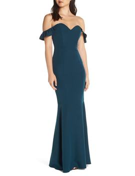 The Gabrielle Strapless Trumpet Gown by Wayf
