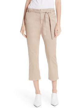 Demarius Stretch Cotton Crop Pants by Joie