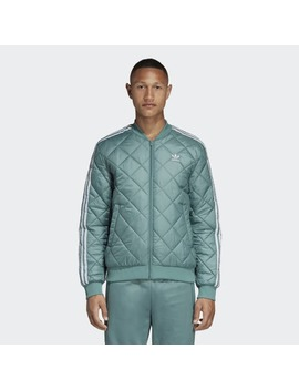 Quilted Sst Jacket by Adidas