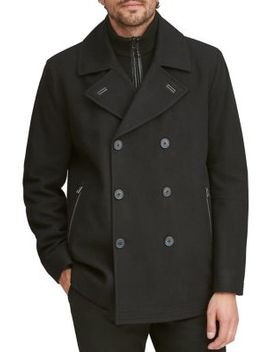 Emmett Wool Blend Peacoat by Marc New York