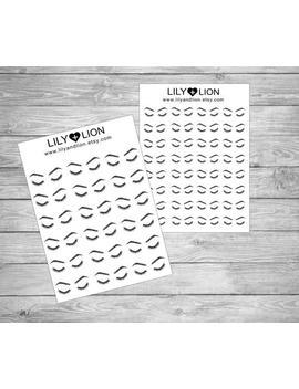 Eyebrow & Eyelash Appointment Planner Stickers   Plum Paper   Erin Condren   Happy Planner by Etsy
