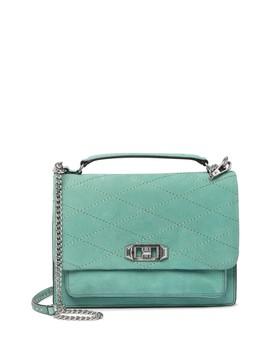 Je T'aime Medium Suede Crossbody Bag by Rebecca Minkoff