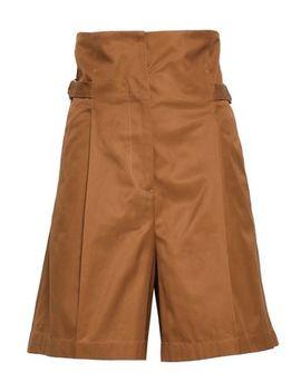 Cotton Twill Shorts by Jil Sander