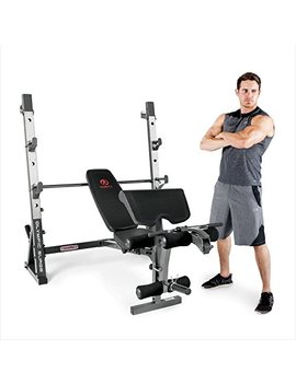Marcy Olympic Weight Bench For Full Body Workout by Marcy