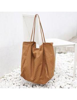 Loveloads   Plain Canvas Tote Bag by Loveloads