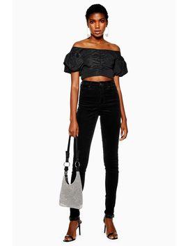 tall-black-corduroy-jamie-jeans by topshop