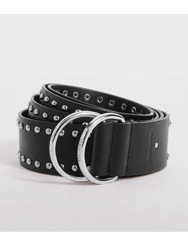 Kira Studded Leather Belt by Allsaints