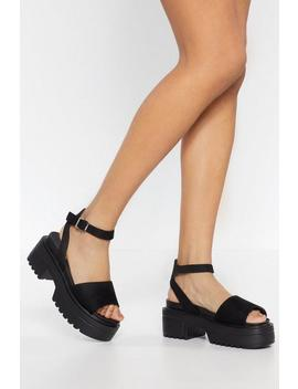 Big You Up Platform Sandals by Nasty Gal