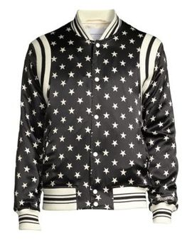 Star Silk Bomber Jacket by Ovadia & Sons