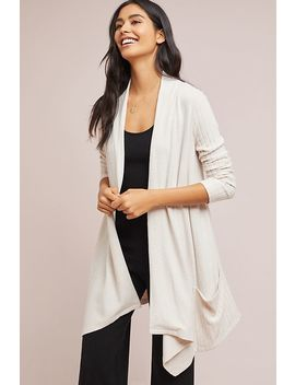 Ribbed Cloud Fleece Cardigan by Saturday/Sunday