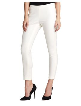 Side Zip Cropped Skinny Pants by Vince Camuto Petites