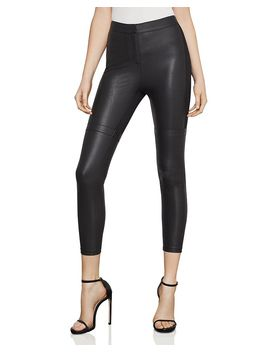 Faux Leather Ankle Leggings by Bcbgmaxazria
