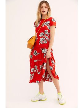 Rita Tiered Midi Dress by Free People