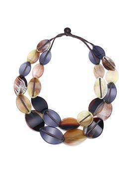 Famarine Acrylic Drop Earrings, Tortoise Shell Print Resin Statement Gold Hook Earrings by Famarine