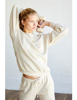 Make It Count Printed Sweatshirt by Free People