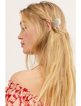 Caspian Shell Hair Pin by Free People