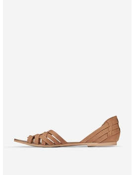 Tan Leather 'Jinx' Sandals by Dorothy Perkins