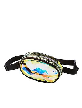 Holographic Belt Bag by Charlotte Russe