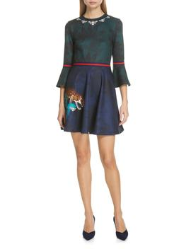 Emileen Floral Minidress by Ted Baker London