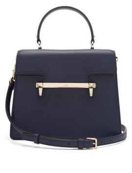 Uptown Leather Top Handle Bag by Valentino