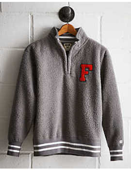 Tailgate Men's Florida Sherpa Fleece Half Zip by American Eagle Outfitters