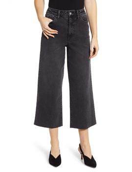 Wide Leg Crop Jeans by Tinsel