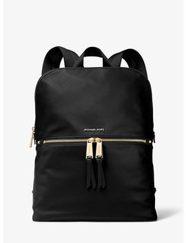 Polly Medium Nylon Backpack by Michael Michael Kors