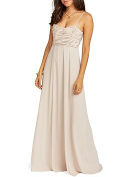Bonbon Optional Strap Gown by Show Me Your Mumu